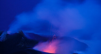 World's most active volcanoes