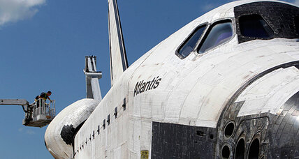 Why does the space shuttle always look so filthy?