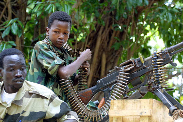 child soldiers in sierra leone Ishmael beah was 12 when he was orphaned by sierra leone's civil war and recruited as a child soldier he described the.