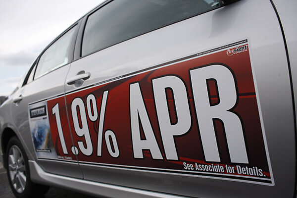 Toyota Of Lakewood >> Refinancing auto loans: Did you know you could? - CSMonitor.com