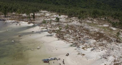 Five of world's biggest tsunamis