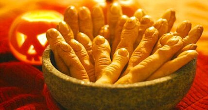 Witches finger cookies
