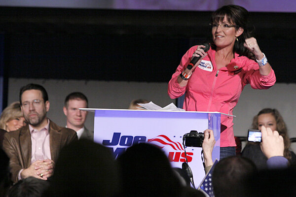 Did midterm elections lift Sarah Palin higher, or not?