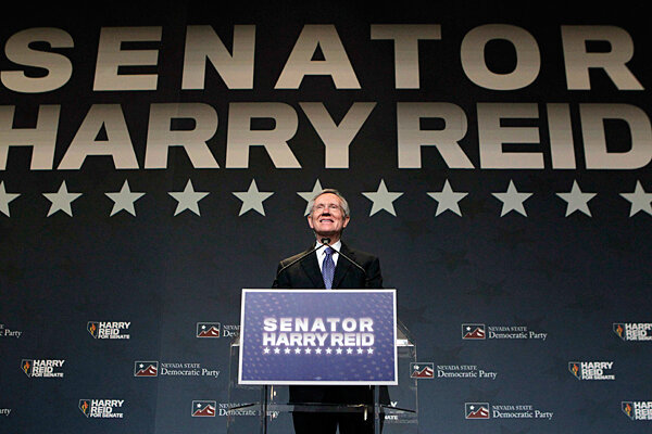 Nevada Senate race: Harry Reid wins in election night's biggest Houdini act