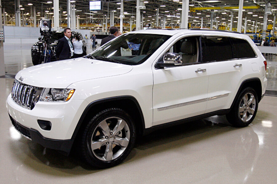 Jeep Grand Cherokee Its Redesign Boosts A Chrysler Turnaround