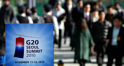 The G20's top points of contention