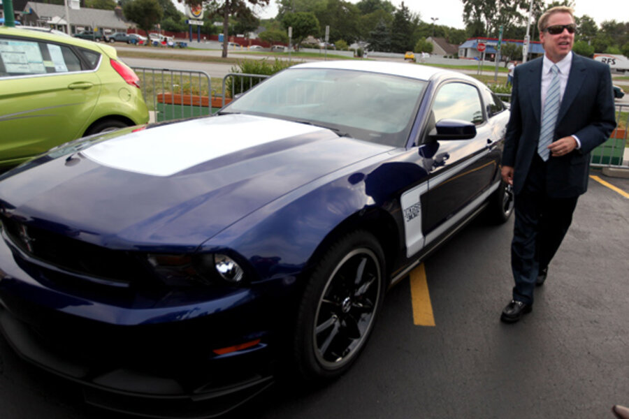 New Mustang requires second key to unlock secret race car