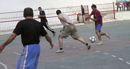Despite Hamas-Fatah split, Gaza's sportsmen score a truce. Game on.
