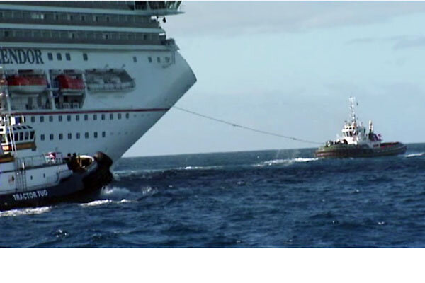 Carnival Splendor Fire Crippled Ship Nears San Diego