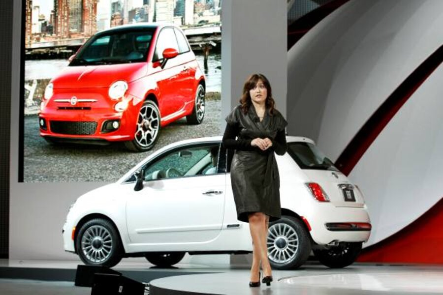 Fiat 500 To Take On Mini In Us Csmonitor Com