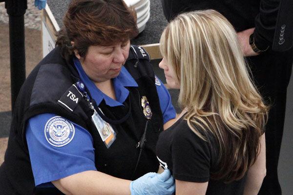 Airport pat down sexual