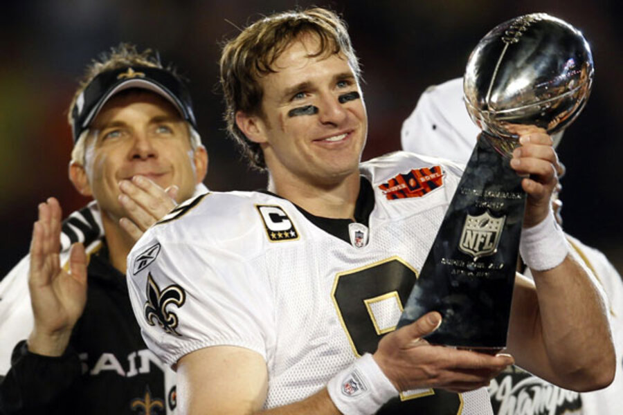 Drew Brees named SI 'Sportsman of the Year.' Who else could have ...