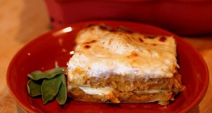 Butternut and sage lasagna