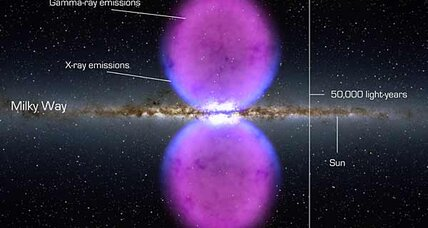 Milky Way 'bubbles' baffle astronomers searching for dark matter