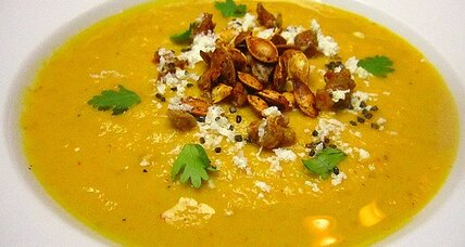 Pumpkin velouté with pimentón and chipotle