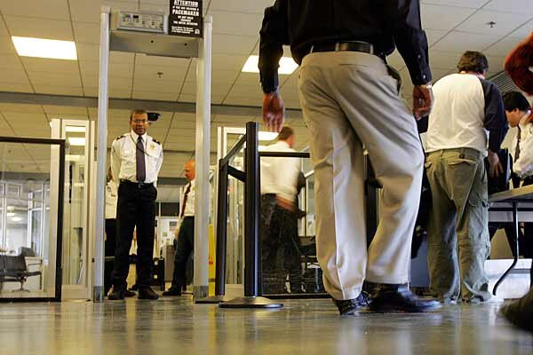 Airport security repercussions due to the September 11 attacks