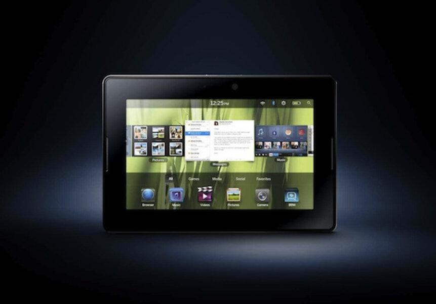 BlackBerry PlayBook will challenge iPad on price - CSMonitor com