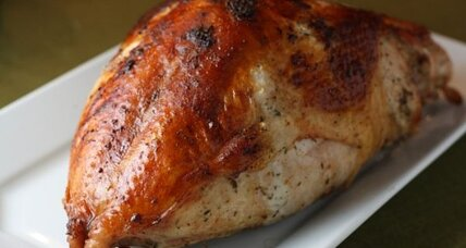 Perfect roasted turkey and pan gravy