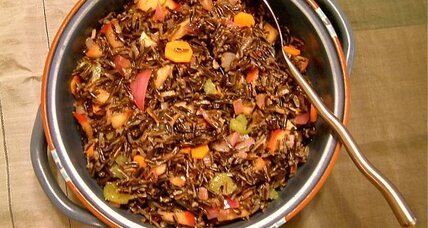 Thanksgiving side dish: Wild rice and fruit salad