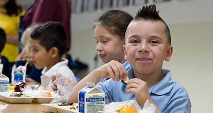 House votes a $4.5 billion boost for child nutrition, school lunches