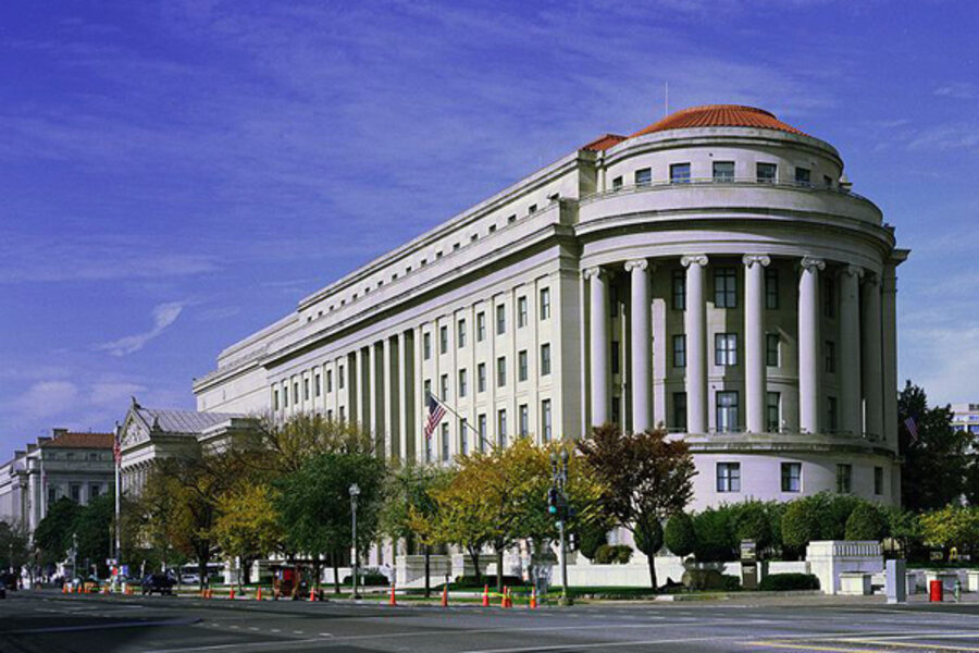 the apex building, ftc headquarters is seen here  federal regulators are  proposing to create a