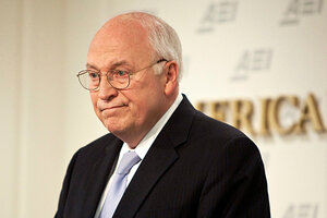 dick cheney oil spill halliburton