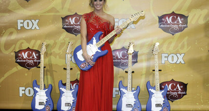 Carrie Underwood top winner at American Country Awards