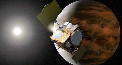 Did something just smack into Japan's Akatsuki Venus probe?
