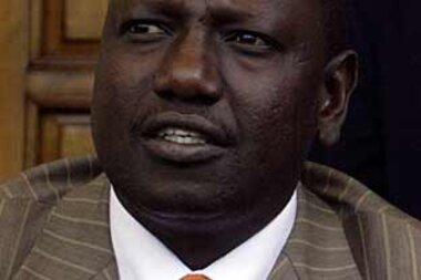 Image result for william Ruto sad