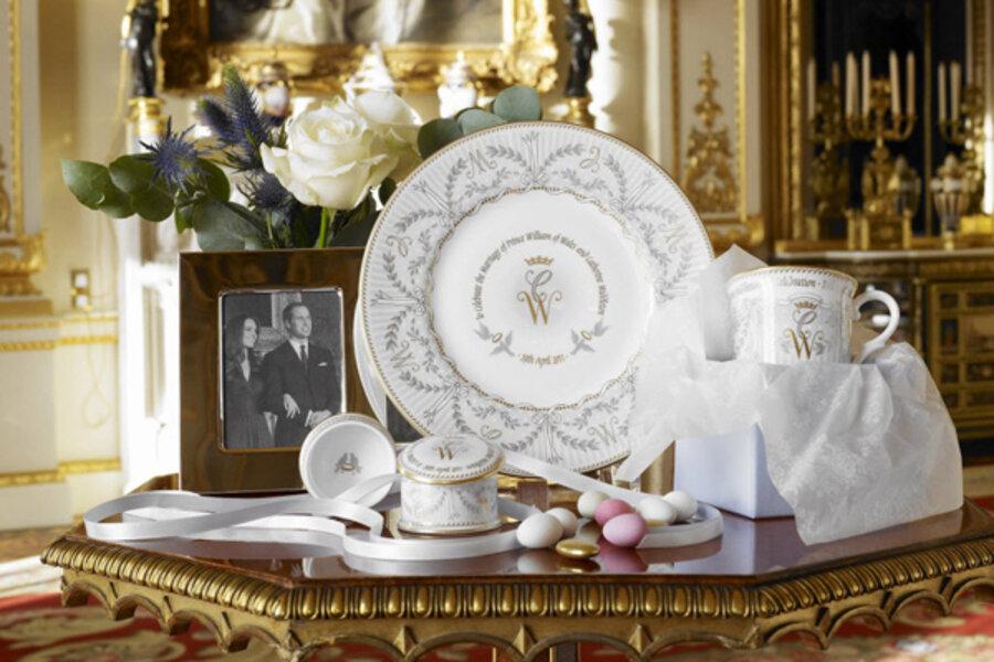 kate middleton prince william wedding souvenirs get royal