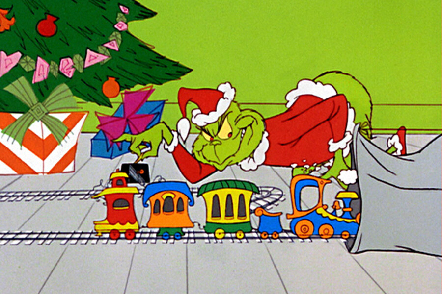 How The Grinch Stole Christmas Characters Cartoon.How The Grinch Stole Property Rights Csmonitor Com