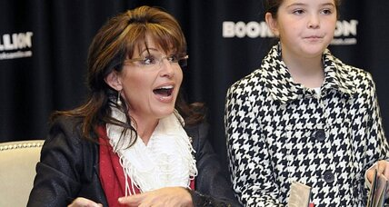 Sarah Palin versus Republican 'blue bloods'