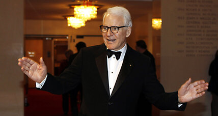Steve Martin gives a lesson on sales taxes