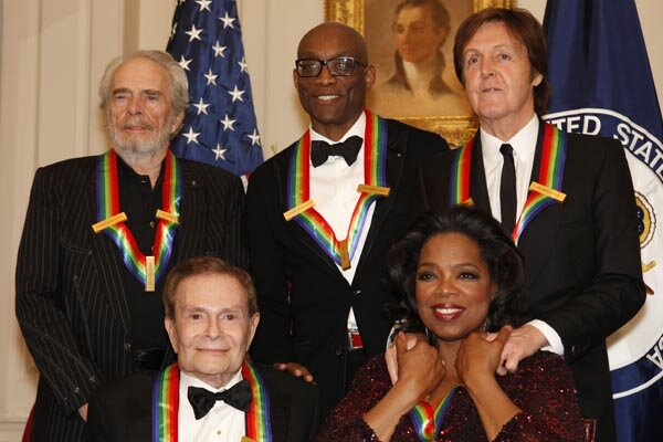 Kennedy Center Honors 2010 Oprah Winfrey Paul Mccartney