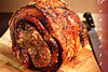 Crispy roasted pork (porchetta)