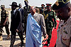 Sudan's Bashir softens tone in rare visit to semiautonomous South