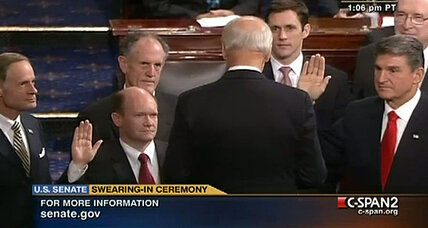 The scoop on what really occurs at swearing-in for new members of Congress