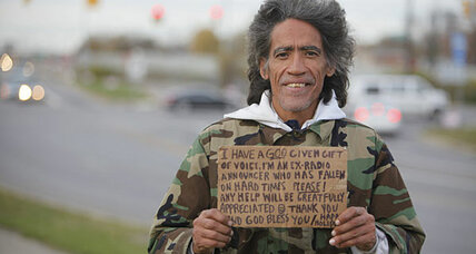 Ted Williams: A homeless man with a golden voice gets a new chance