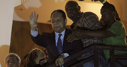 Haiti's political twist: Former dictator Jean-Claude 'Baby Doc' Duvalier shows up