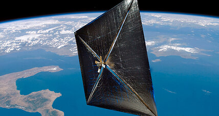 In a NASA first, NanoSail-D spacecraft to set sail on the sunlight