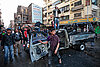 In Cairo, Egypt, a street-eye view on a day of 'revolution' and high hopes