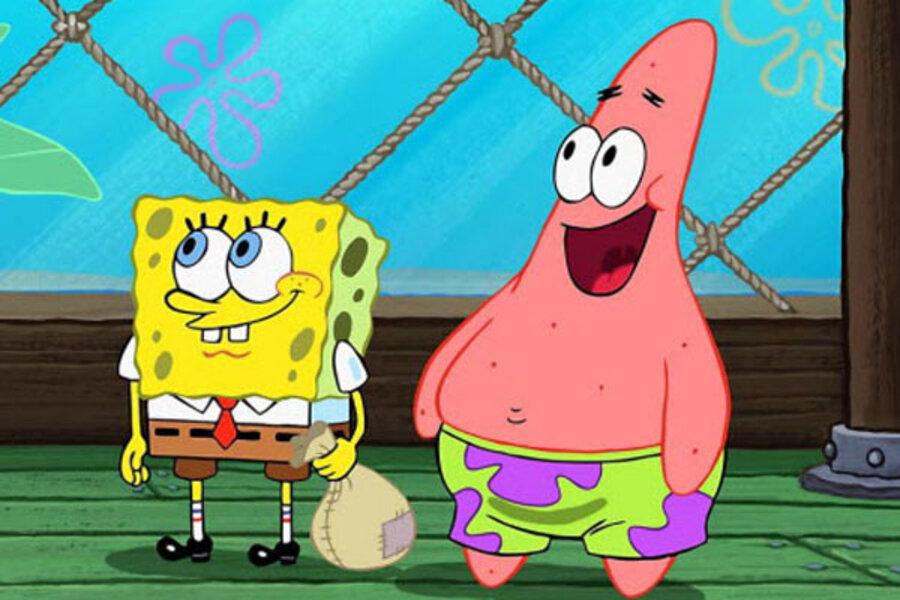 Spongebob Gives Facebook Friends A Special Treat