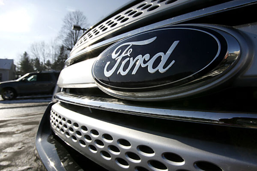 Ford motor company huge profits but stock falls for Ford motor company news