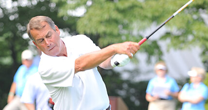 John Boehner disses Obama's golf game on Fox News