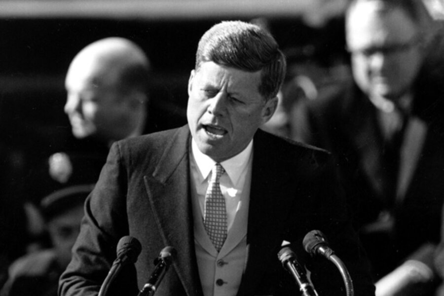 inaugural address by john f kennedy essay B) kennedy did not put much preparation into his inaugural address because he was a naturally gifted speaker c) kennedy wanted his speech to be exciting, so he used a lot of humor to excite the audience.