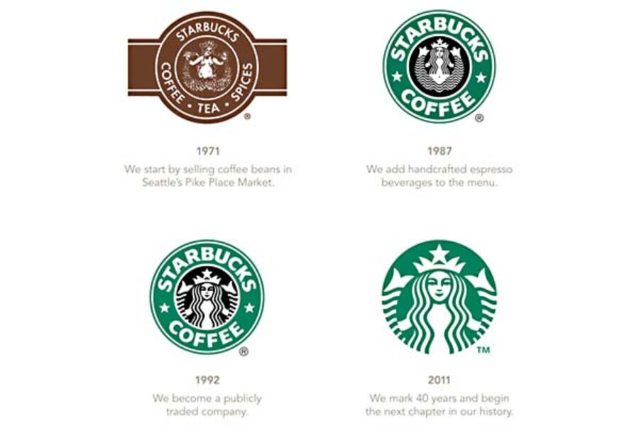 Starbucks Logo Change No Name More Mermaid Will It Sell