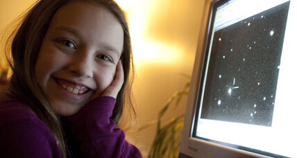 10-year-old becomes youngest to discover supernova