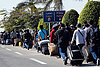 For many foreigners fleeing Egypt, a chaotic and tense exit