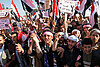 In Yemen's Tahrir Square, progrovernment crowds counter 'day of wrath'