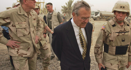 In his memoir, Donald Rumsfeld admits five mistakes, sort of